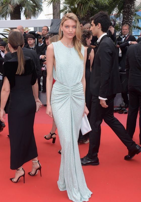 """Martha Hunt – """"The Wild Pear Tree"""" Red Carpet in Cannes"""