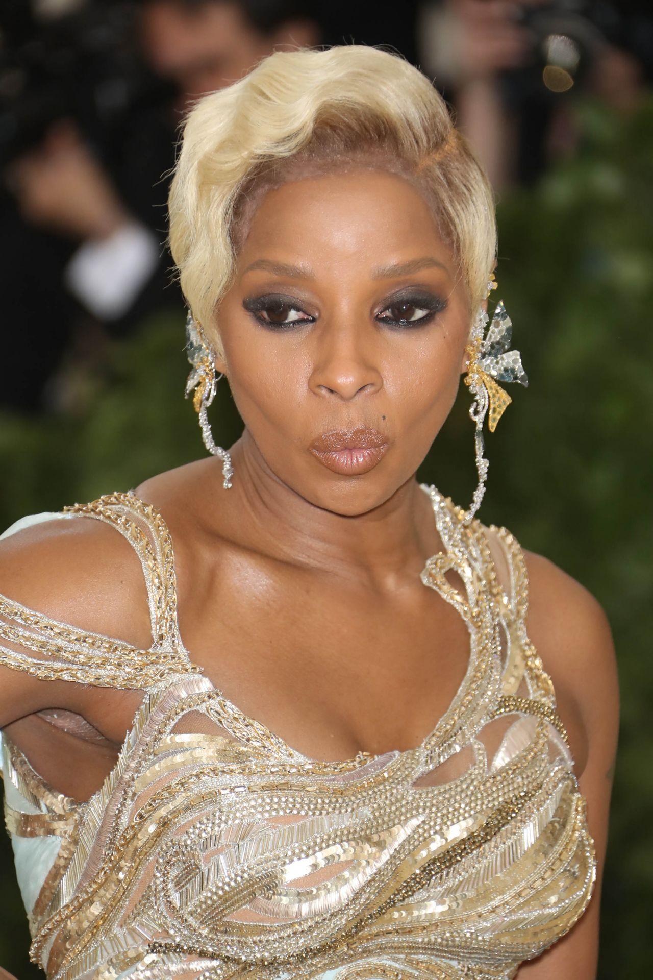 Mary J Blige Met Gala 2018