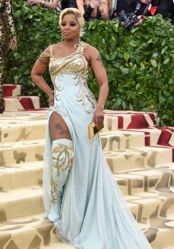 Mary J. Blige – MET Gala 2018