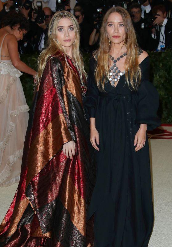 Mary-Kate Olsen and Ashley Olsen – MET Gala 2018
