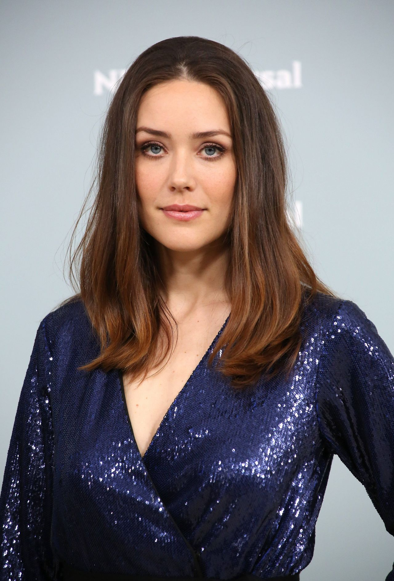Megan Boone - 2018 NBCUniversal Upfront in NYC • CelebMafia