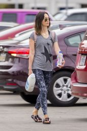 Megan Fox in Leggings -New Orleans 05/06/2018
