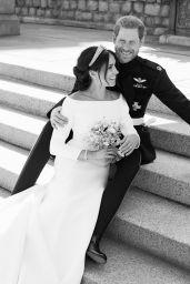 Meghan Markle & Prince Harry - Official Wedding Portraits 05/19/2018