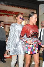 Melanie Brown - Leaves Hello! Magazine x Dover Street Market Anniversary Party in London