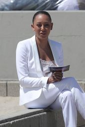 Melanie Brown - Today Show Hosted by Kathie Gifford & Hoda at Venice Beach in Venice 05/25/2018