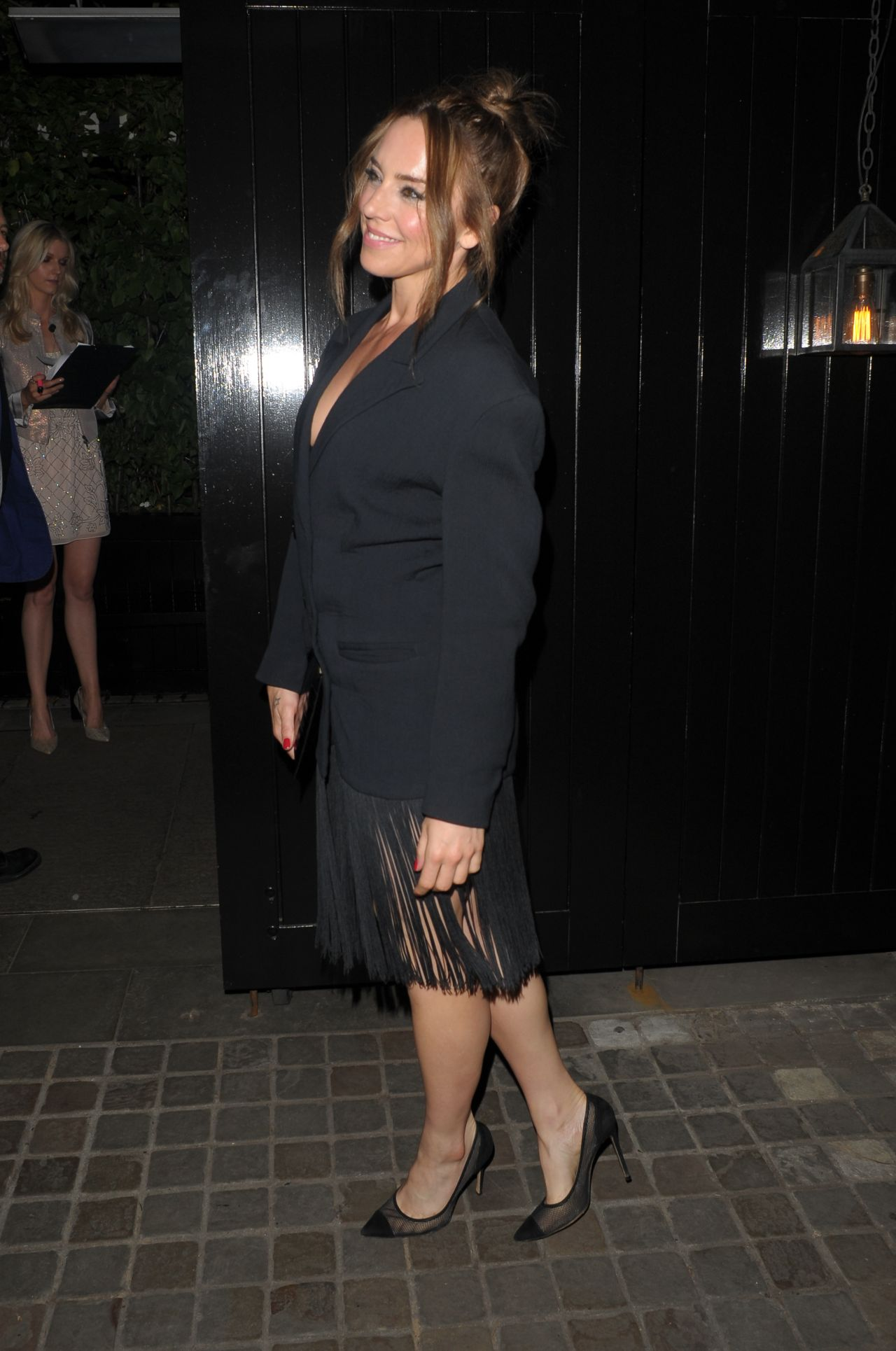 Melanie C at Chiltern Firehouse for Kylie Minogues Birthday Party