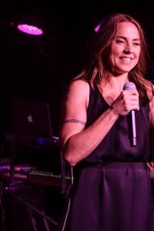Melanie Chisholm - Performing At Boisdale Jazz & Blues Club in London