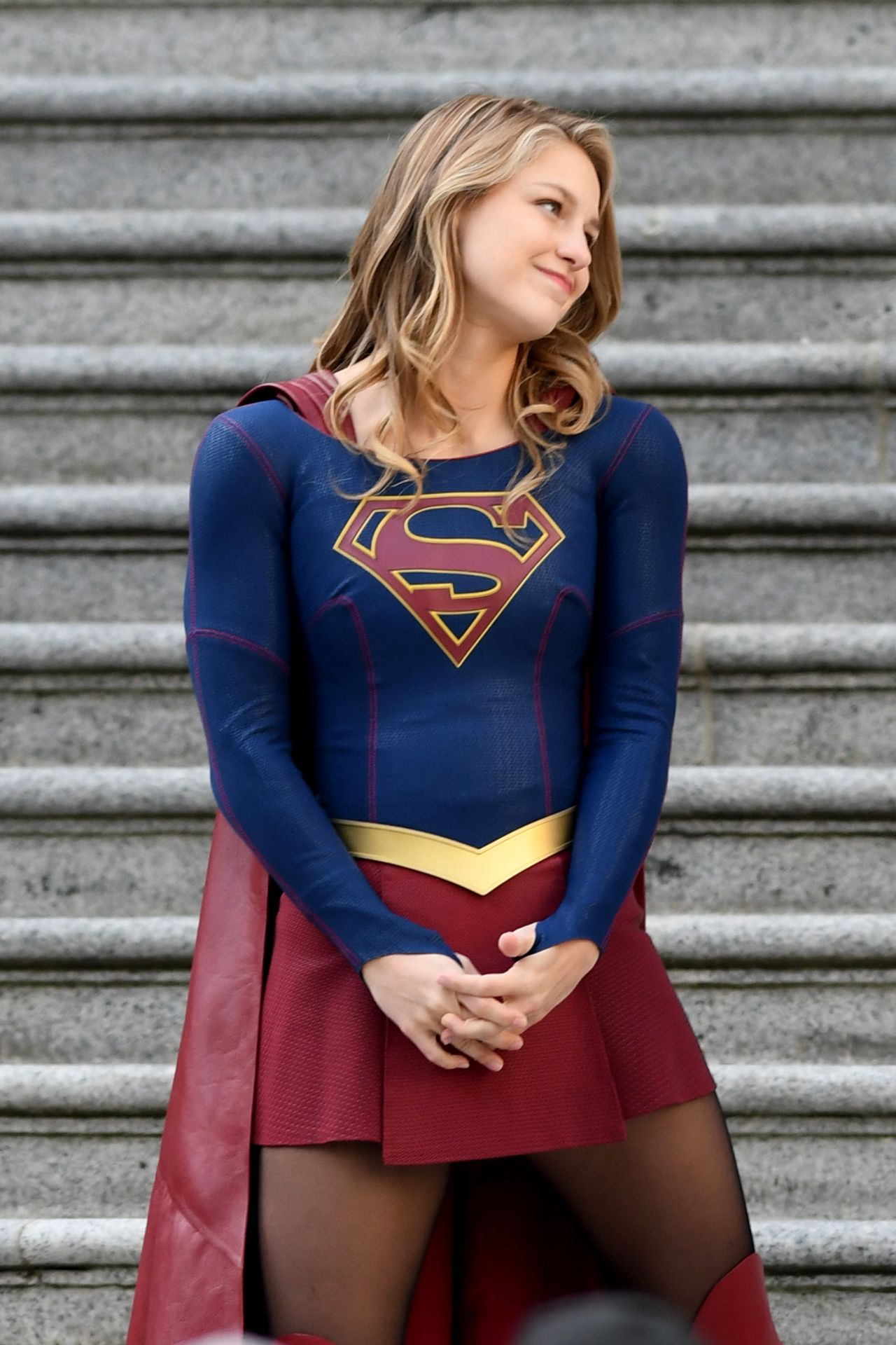 """Filming In Progress The Most Beautiful Actress In The World: Finale Of """"Supergirl"""" Filming In"""