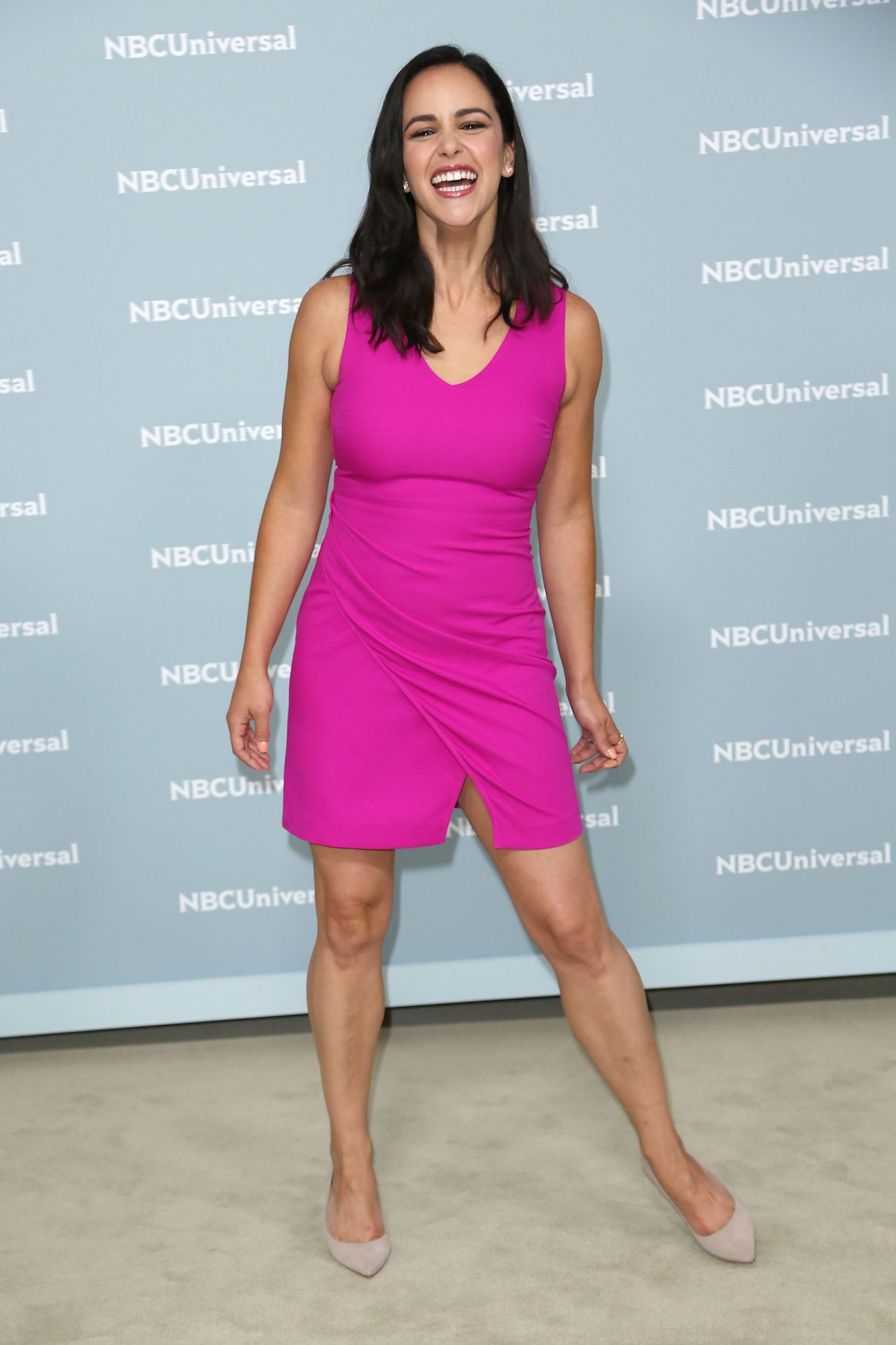 Melissa Fumero 2018 Nbcuniversal Upfront In Nyc