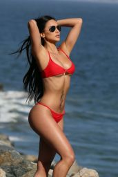 Melissa Riso in Bikini - Photoshoot for 138 Water in Malibu 05/17/2018
