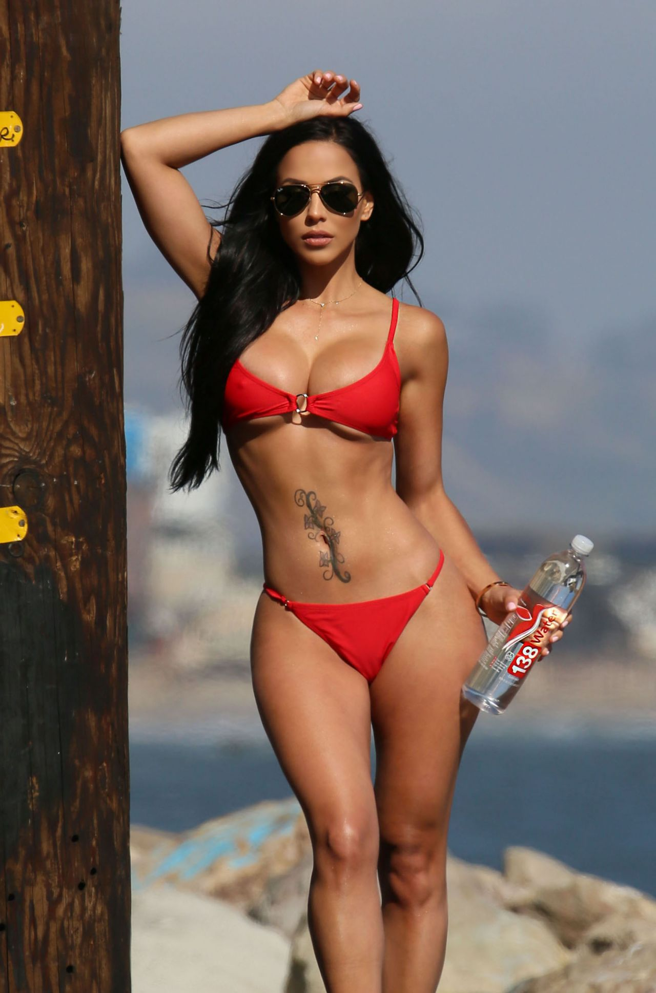 Melissa riso bikini photos