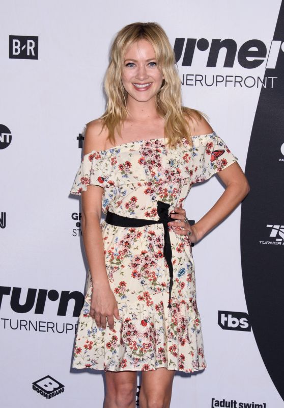 Meredith Hagner – 2018 Turner Upfront Presentation in NYC