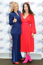 """Michelle Hunziker and Aurora Ramazzotti - """"Do You Want To Bet"""" TV Show Photocall in Milan 05/03/2018"""