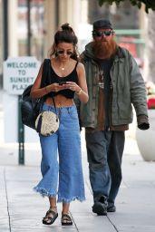 Michelle Keegan - Walking to the Gym in LA 05/08/2018