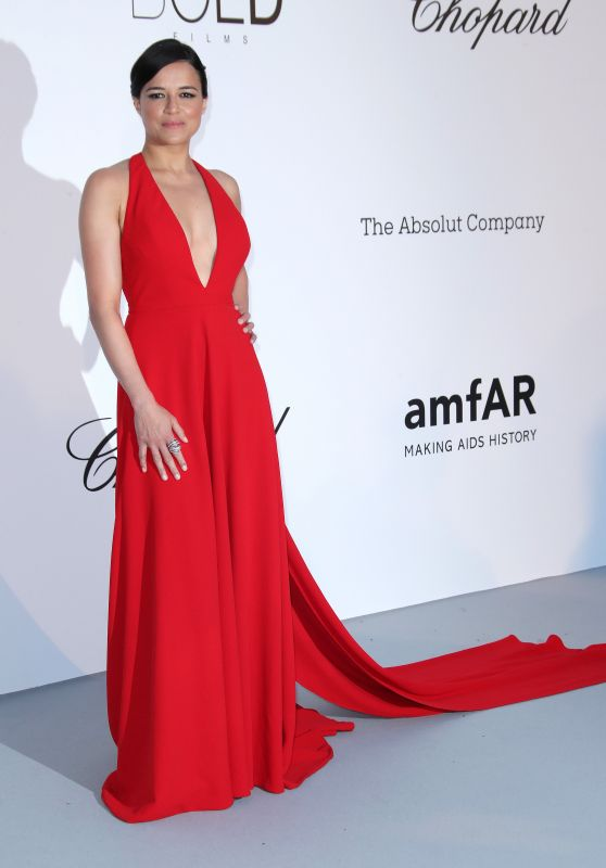 Michelle Rodriguez – amfAR's Cinema Against AIDS Gala in Cannes 05/17/2018
