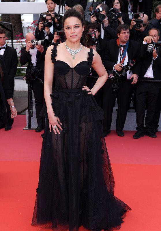 """Michelle Rodriguez – """"BlacKkKlansman"""" Premiere in Cannes"""