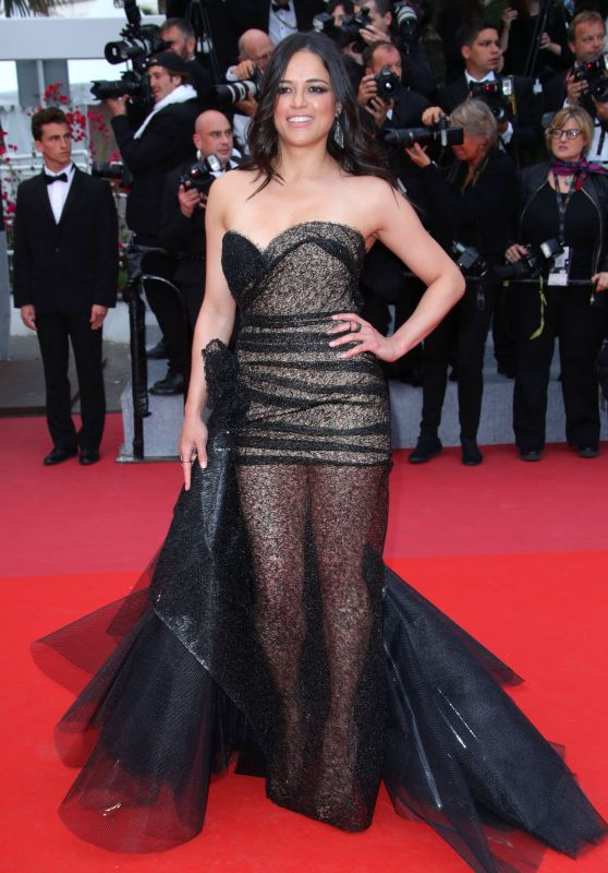 """Michelle Rodriguez – """"Solo: A Star Wars Story"""" Red Carpet in Cannes"""