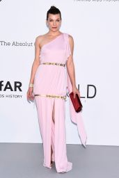 Milla Jovovich – amfAR's Cinema Against AIDS Gala in Cannes 05/17/2018