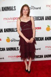 "Mina Sundwall – ""American Animals"" Premiere in New York"