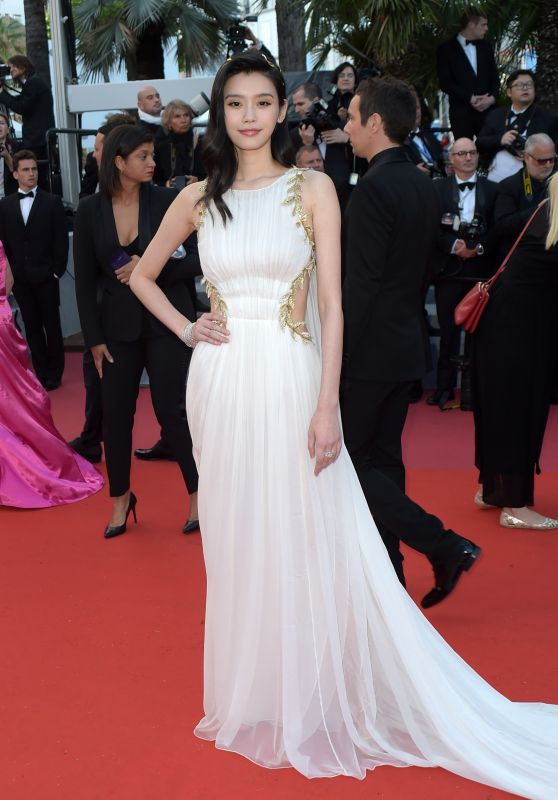 "Ming Xi – ""Sink or Swim"" Red Carpet in Cannes"