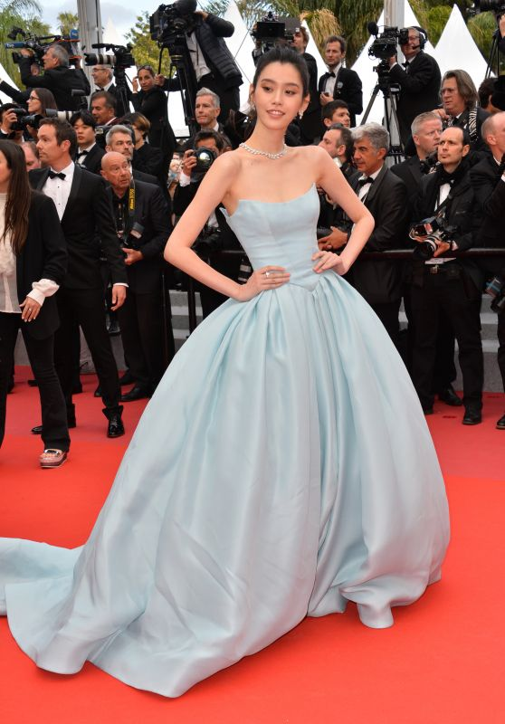 "Ming Xi – ""Solo: A Star Wars Story"" Red Carpet in Cannes"