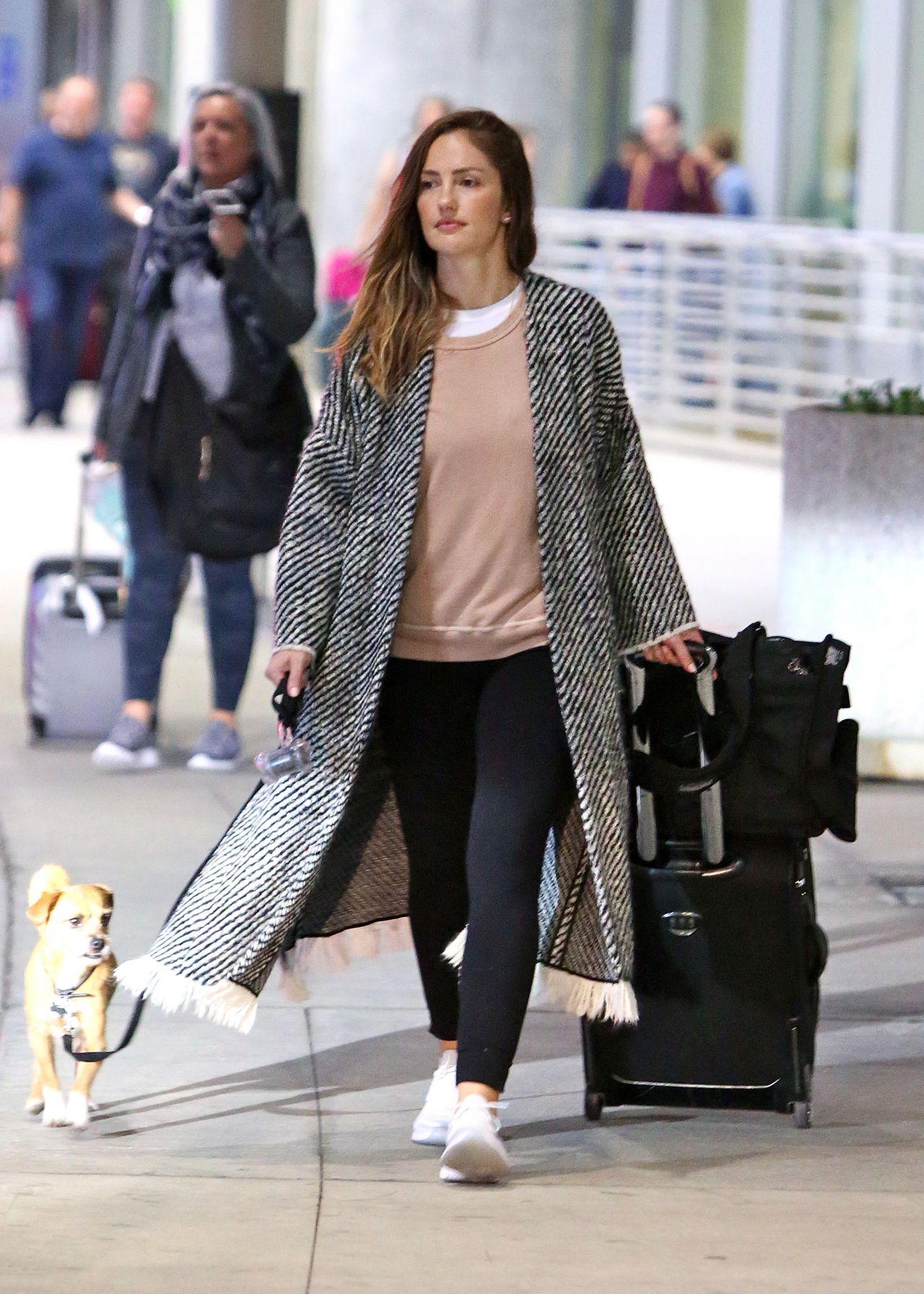 Minka Kelly Arrives In Toronto 05 21 2018