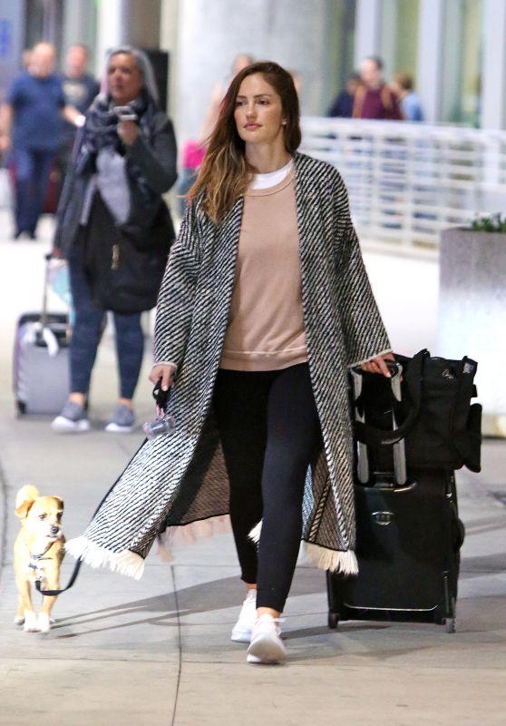 Minka Kelly - Arrives in Toronto 05/21/2018