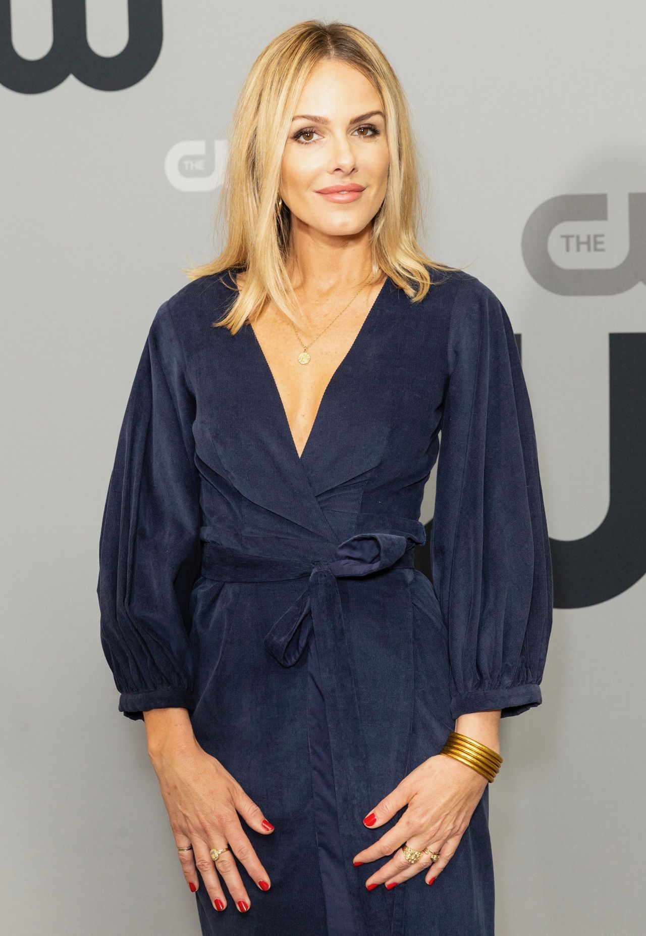 Monet Mazur Cw Network Upfront Presentation In Nyc 05 17
