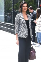 Morena Baccarin Arrives at BUILD Series in New York City 05/14/2018
