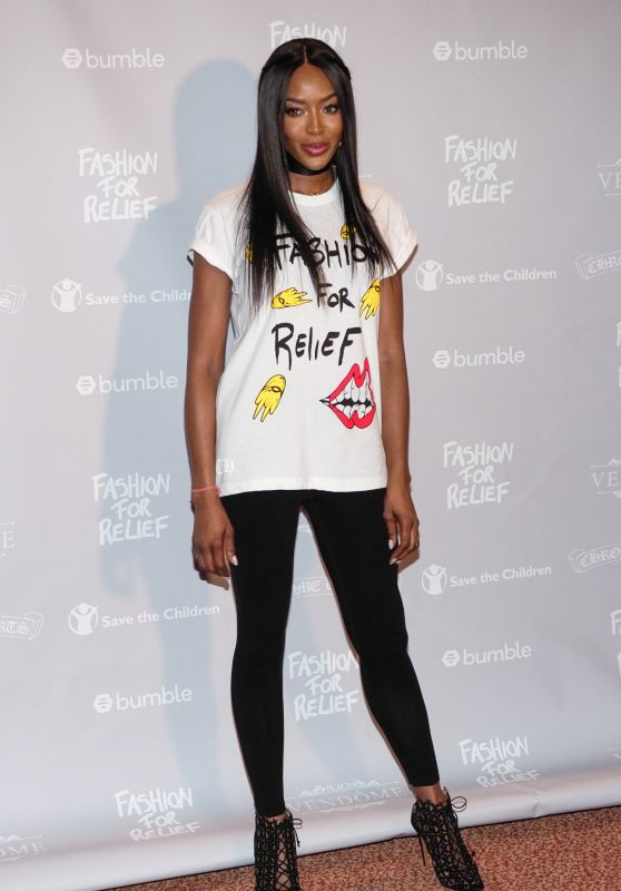 Naomi Campbell - Fashion for Relief Cannes 2018 Photocall