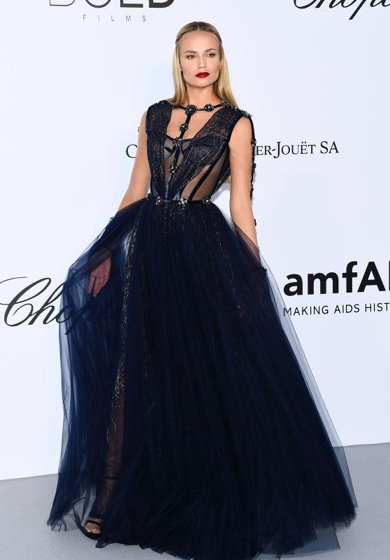 Natasha Poly – amfAR's Cinema Against AIDS Gala in Cannes 05/17/2018