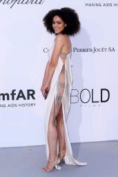 Nathalie Emmanuel – amfAR's Cinema Against AIDS Gala in Cannes 05/17/2018