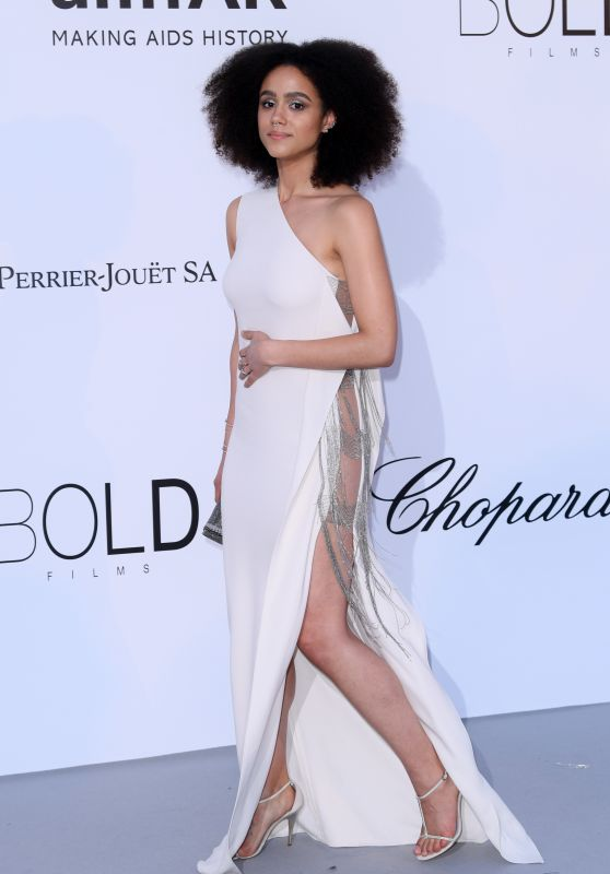 Nathalie Emmanuel – amfAR's Cinema Against AIDS Gala in Cannes 05/17/2018