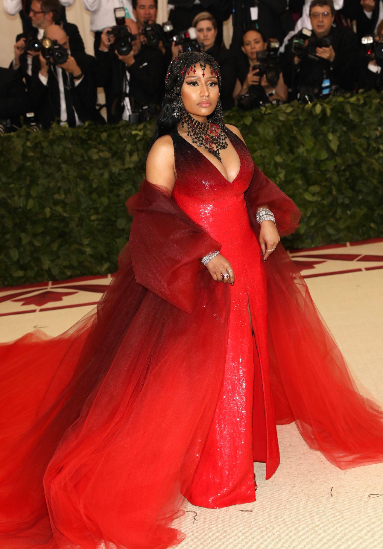 Nicki Minaj – MET Gala 2018