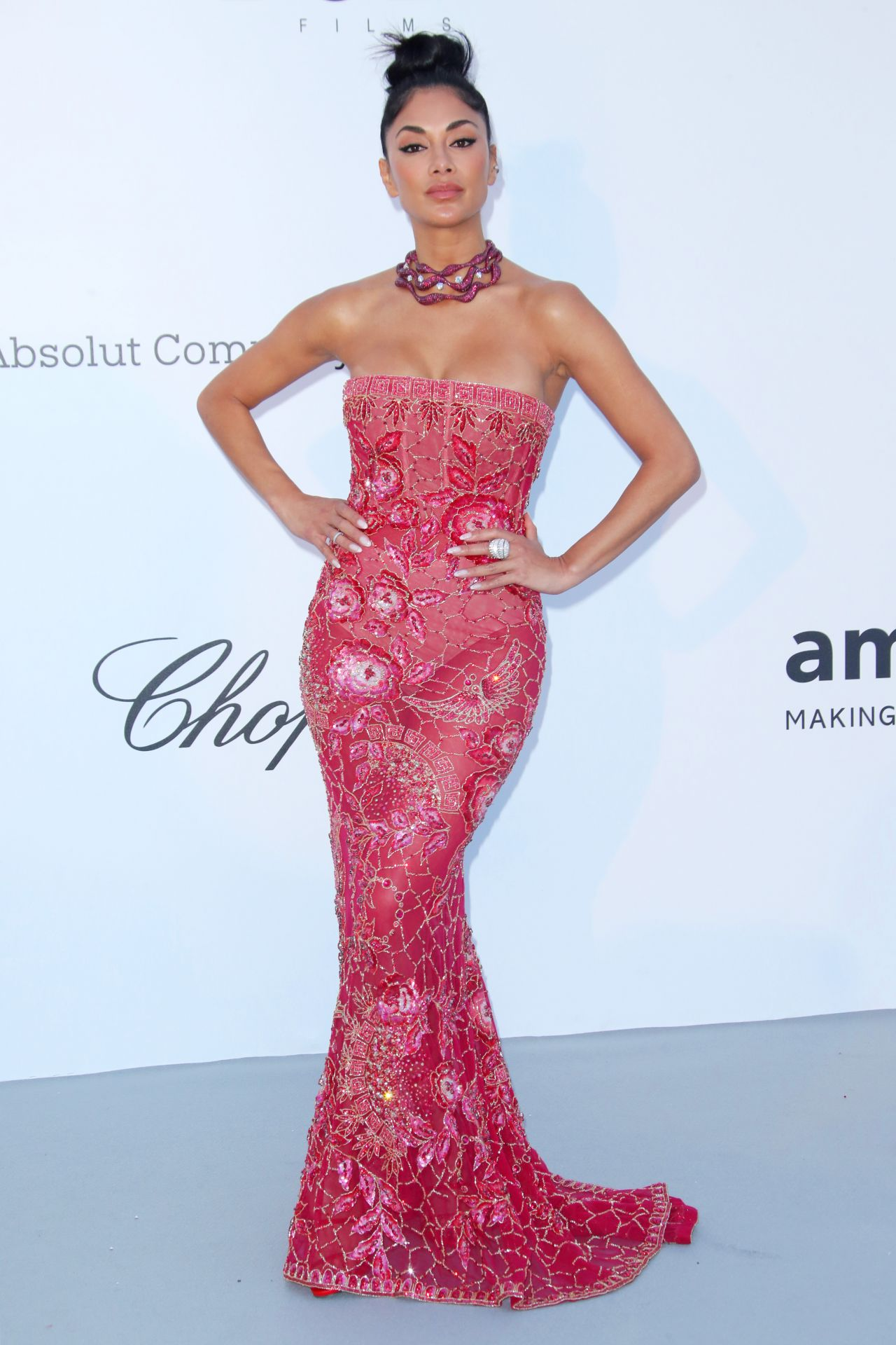 Nicole Scherzinger – amfAR's Cinema Against AIDS Gala in Cannes 05/17/2018
