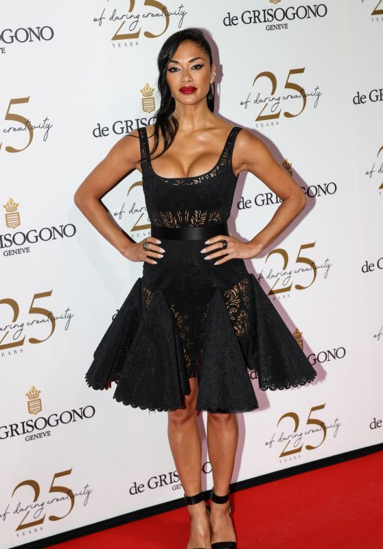 Nicole Scherzinger – Grisogono Party in Antibes 05/15/2018