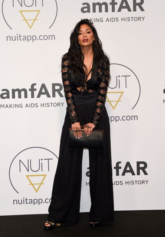 Nicole Scherzinger – Pre AmfAR NuitApp Party in Cannes 05/16/2018