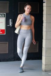 Olivia Culpo - Leaving a Gym in West Hollywood 05/22/2018