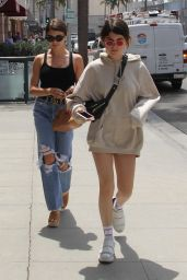 Olivia Giannulli and Isabella Giannulli - Getting Their Nails Done in Beverly Hills 05/08/2018