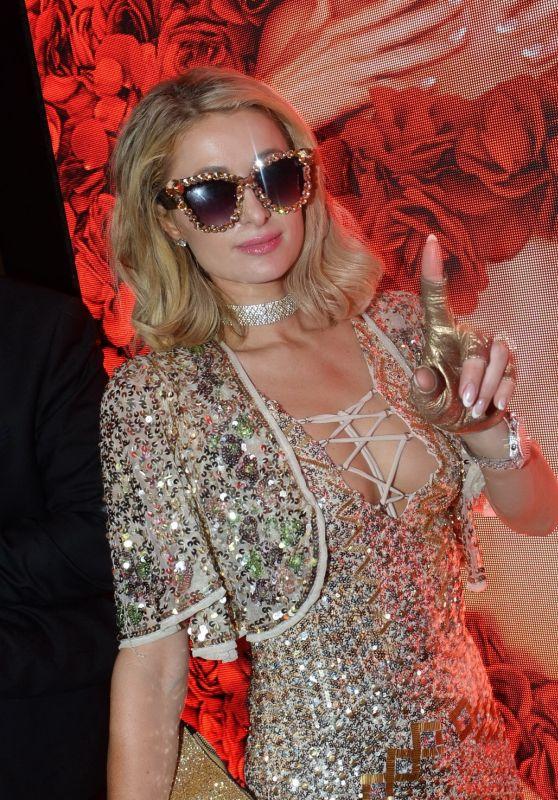 Paris Hilton - VIP Room in Cannes 05/14/2018