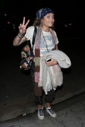 """Paris Jackson - Arrives at """"On the Rox"""" in West Hollywood 05/19/2018"""