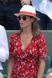 Pippa Middleton at Roland Garros in Paris 05/27/2018