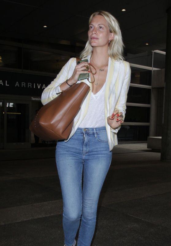 Poppy Delevingne - LAX Airport in LA 05/29/2018