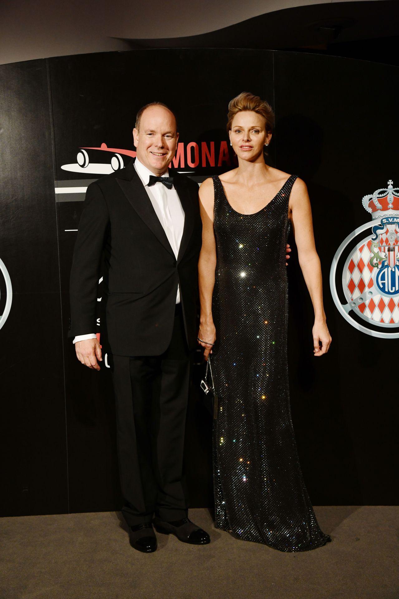 Princess Charlene Of Monaco Acm Dinner Gala F1 Grand Prix Of Monaco 05 27 2018