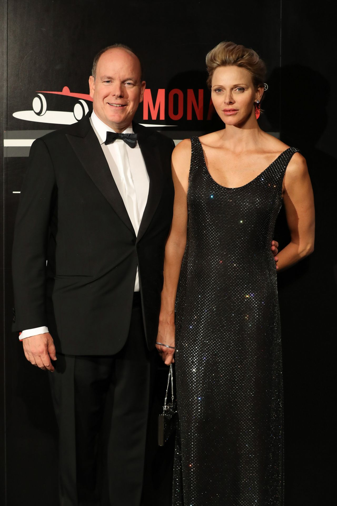 princess charlene of monaco acm dinner gala f1 grand prix of monaco 05 27 2018. Black Bedroom Furniture Sets. Home Design Ideas