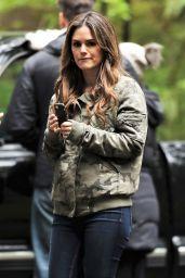 "Rachel Bilson - TV series ""Take Two"" Set in Vancouver 04/30/2018"