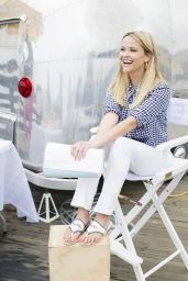 Reese Witherspoon - Draper James Clothing Line Summer Campaign 2018