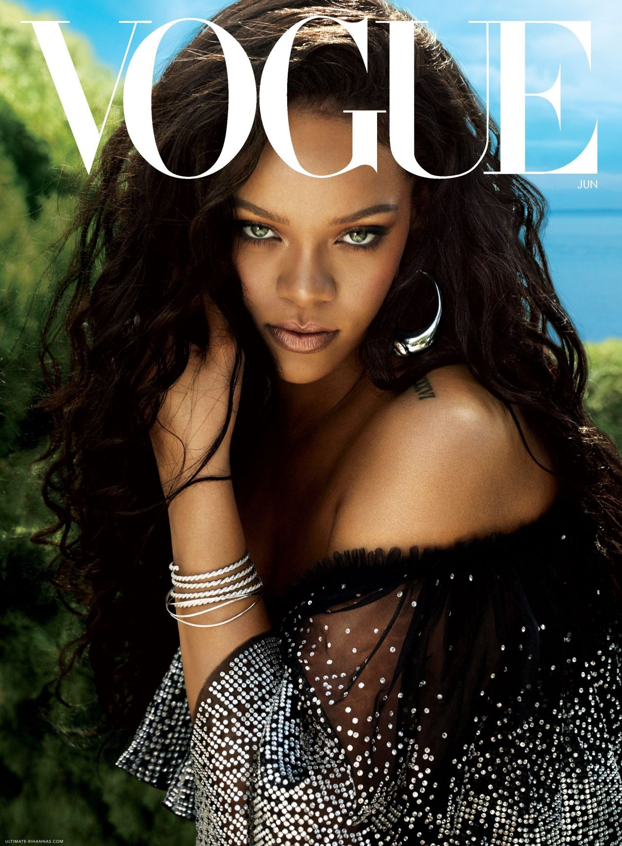the best of bling this month rihanna jetsets rihanna photoshoot for vogue magazine june 2018