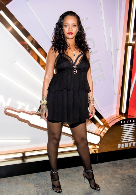 Rihanna - Savage X Fenty Lingerie Launch Party in New York City 05/10/2018