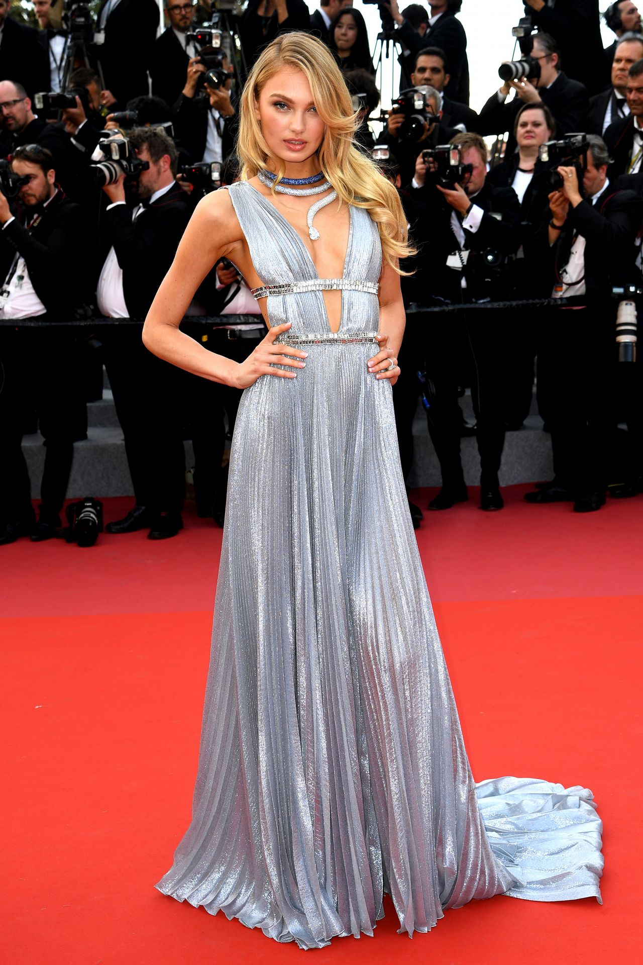 """30471a6beb8 Romee Strijd – """"Everybody Knows"""" Premiere and Cannes Film Festival 2018  Opening Ceremony"""